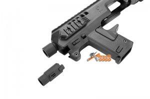 caa airsoft micro roni pistol carbine conversion umarex g17 g19 g22 vfc g17 g18C g19 marui ksc we g17 g18c g19 g23f gas blowback glock gbb