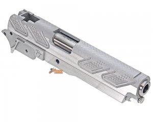 Gunsmith Bros CNC Aluminum PT Style Standard Set for Tokyo marui Hi-Capa Series (Silver)
