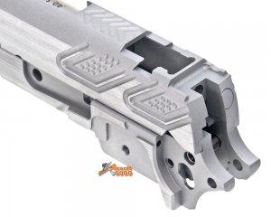 gunsmith bros cnc aluminum pt style standard set tokyo marui hicapa series silver