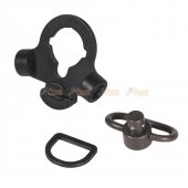 Army Force Tactical QD Dual Receiver Sling Swivel for M4 AEG