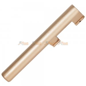 Bell Metal 123mm Outer Barrel for Bell M9 Series GBB (Gold)