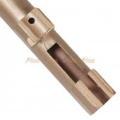 bell metal 123mm outer barrel bell m9 series gbb gold
