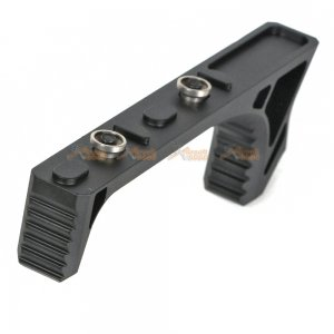 115mm Metal Angled Grip for Keymod Handguard Rail (Black)