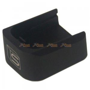 EMG Hi-Capa Series SAI Alloy Co2 Magazine Base (Black)