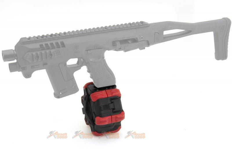 ArmoreWorks VX Glock 350rds Adaptive Drum Magazine for Marui