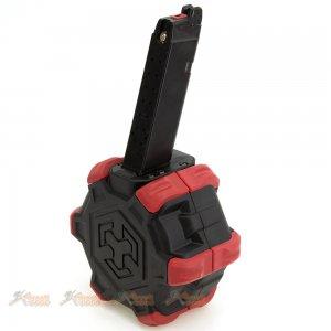 armoreWorks ax adaptive drum magazine marui we aw ax glock g17 g18c g19 g23 g26 g34 gbb