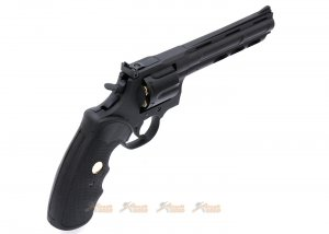 king arms python 357 magnum co2 revolver black 6inch barrel