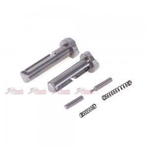 5KU Shifting Pins for WA/WE-Tech M4 Gas blowback GBB, SYSTEMA M4 PTW and G&D DTW (Silver)