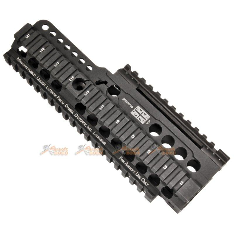 MADBULL Airsoft Giocattolo DANIEL Defense CNC KIT RIS PER SA80//L85 MB-DD-SA80