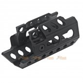 Army Force Alloy Keymod System Handguard for MP5K AEG SMG (Black)