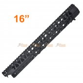 AGWC 16 inch CNC Aluminum Rail Kit Set with Rail  (Black)