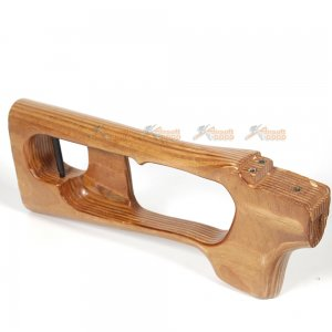 real wooden handguard stock ak svd spring rifle