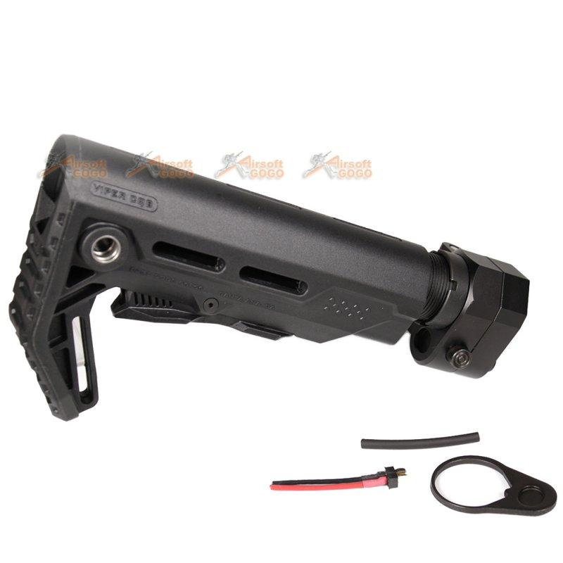 G&P Battery Carry Folding Stock for Marui / G&P M4/M16 AEG (Viper