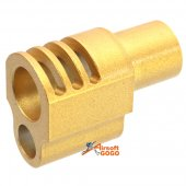 AGG Punisher Style Compensator for Socom Gear / WE 1911 Golden