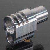 AGG 1911 Punisher Style Aluminum Compensator for Socom Gear / WE 1911 SV
