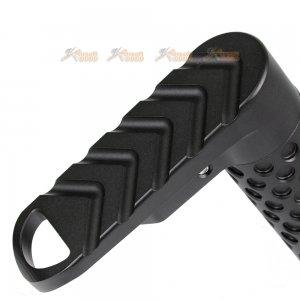 bad stock 2 way sling swivel adaptor m4 series aeg black