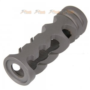 steel 14mm anti clockwise ccw flash hider 05a black