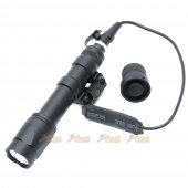 Building Fire M600C LED Scout Light (Black)
