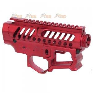 APS EMG F1 Licensed BDR-15-3G AEG Receiver Set (Red)