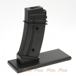 Magazine Display Stand for Marui / King Arms G36 AEG Magazine (Black)