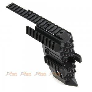 tokyo arms swordfish aluminum alloy front conversion kit p90 aeg black
