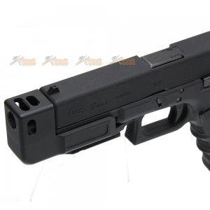 compensator stand off device marui we kj g17 gen 3 umarex g17 gen 4 airsoft gbb black