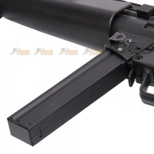 110rds straight magazine cyma mp5 airsoft aeg black