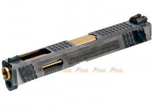 we custom metal slide s type marui we g18c gbb