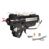 APS No.3 Front Wiring Complete Gearbox Set for APS AK AEG (Black)
