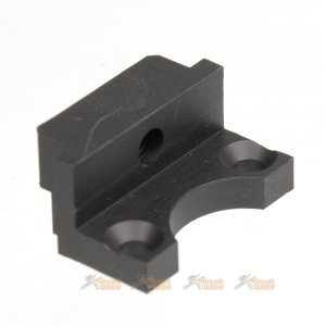 Madbull DD L85 / SA80 Rail Adapter for WE L85 GBB (Black)