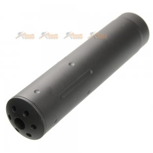 APS Metal 155mm Raptor Silencer (14mm CCW, Black)