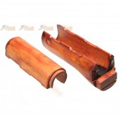 aps real wood aks74u handguard ask205 aks74u aeg
