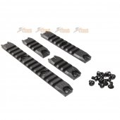 Ares Amoeba M4 Rail Set for ARES Amoeba AM-013, AM-014 , AM-015 AEG Series (Black)