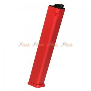 120rds Mid-Cap Magazine for Classic Army Nemesis X9 & G&G ARP9 Series Airsoft AEG (Red)