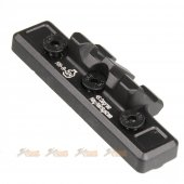 45 Degree Key Rail System for Keymod System (Black)
