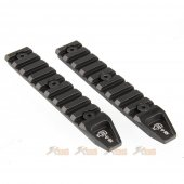 ARES 4.5 inch Key Rail System for Keymod System (2pcs , Black)