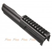 Top Cover with Rail System for ARES L1A1 AEG Series (Black)