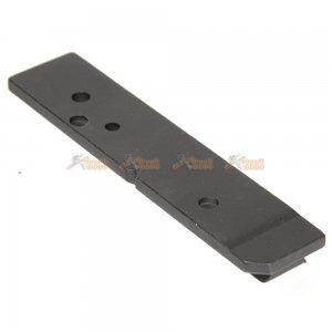 side mount plate ares vz58 aeg black