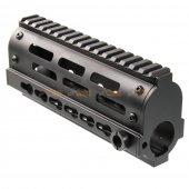 Jing Gong 170mm CNC Aluminum RAS Rail (Black)