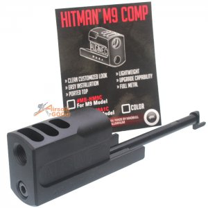 Madbull Hitman M9 Comp for SOCOMGEAR / WE / KJW
