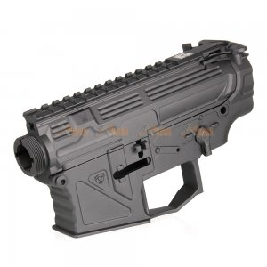 APS Upper & Lower Receiver with PEW Inscription for APS M4 Ver.2 Gearbox (Black)