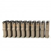 ARES 120rd AEG Short Magazine for Amoeba M4/M16 Series Airsoft AEG (DE, 10 pcs)