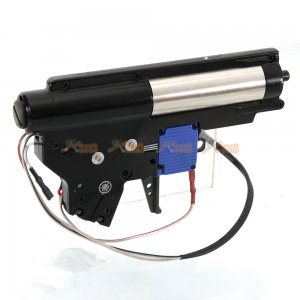 Electric Firing Control System Metal Gearbox Set for Marui Std. M4 Airsoft AEG (Black)