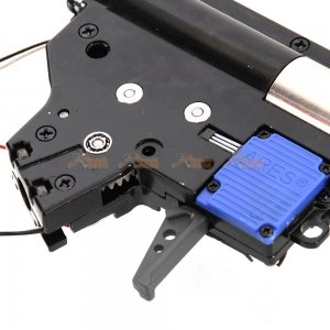 electric firing control system metal gearbox set marui std m4 airsoft aeg black