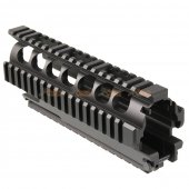 ARES 7 Inch Metal Gearbox Set for ARES VZ58 Airsoft AEG (Black)