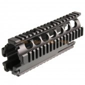 ares 7 iInch metal gearbox set ares vz58 airsoft aeg black