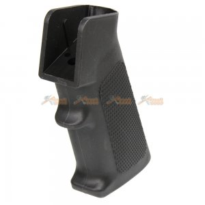 ares high torque slim aeg long shaft motor grip m4 airsoft aeg type a black
