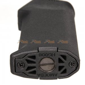 ares high torque slim aeg long shaft motor grip m4 airsoft aeg type b black