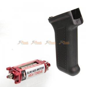 ARES High Torque Slim AEG Motor with Grip for AK Airsoft AEG (Black)