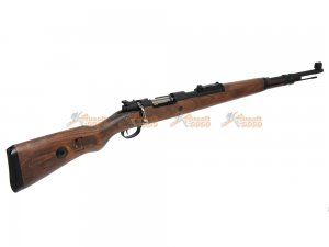 bell gas powered karabiner kar98k Kar98k bolt action rifle real wood